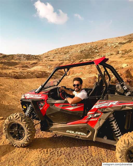 A day with @polarislebanon 🚗 RZR Polaris ... (Lebanon)