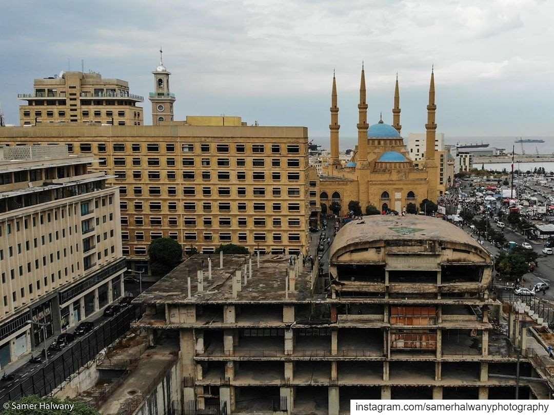 Eyes of the Town beirut lebanon this beautiful aerialphoto taken from...