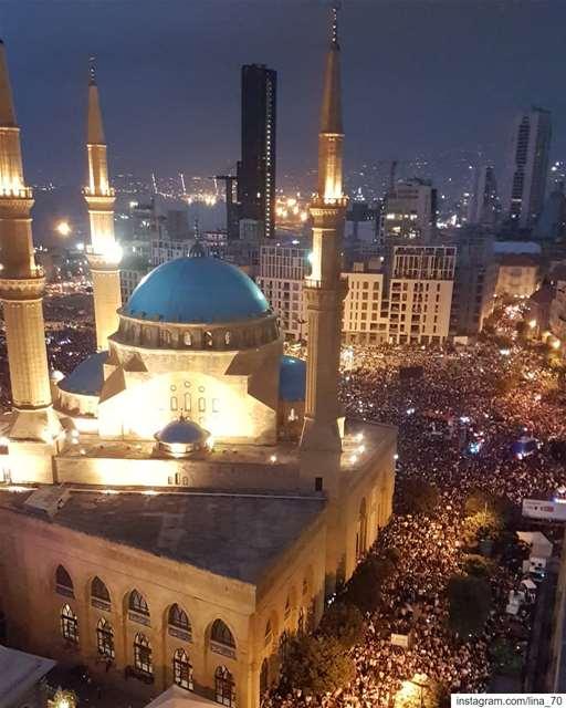 اذا الشعب يوما اراد الحياة ig_respect ig_lebanon ptk_lebanon ... (Downtown Beirut)