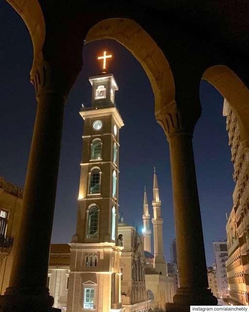 My Beirut ❤️ حبيبتي بيروت ______________________________________... (Beirut, Lebanon)