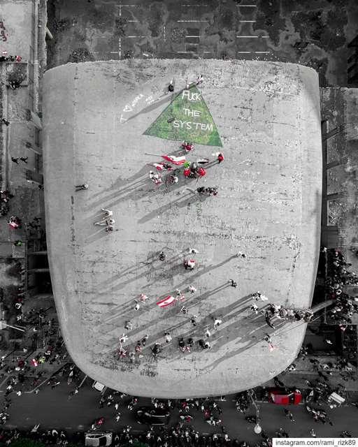 Fuck The System.. Lebanon Beirut LiveLoveLebanon LiveLoveBeirut ... (Beirut, Lebanon)