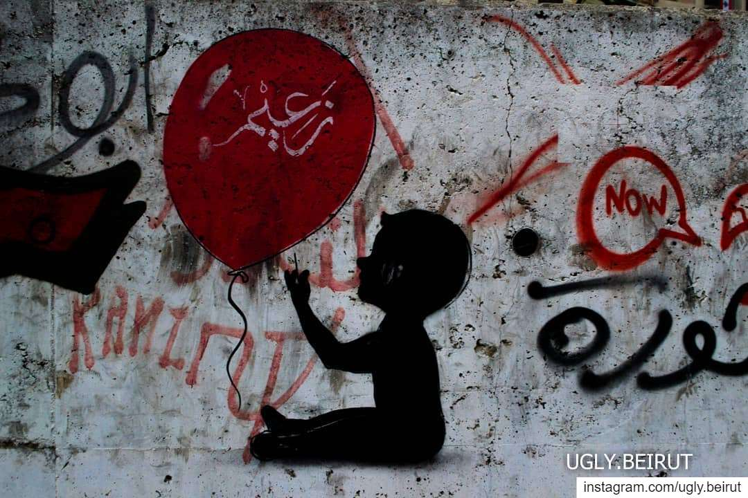 🇱🇧 I HAVE SEEN THE WRITINGS ON THE WALL.****Day 8 Strikes in Beirut... (Beirut, Lebanon)