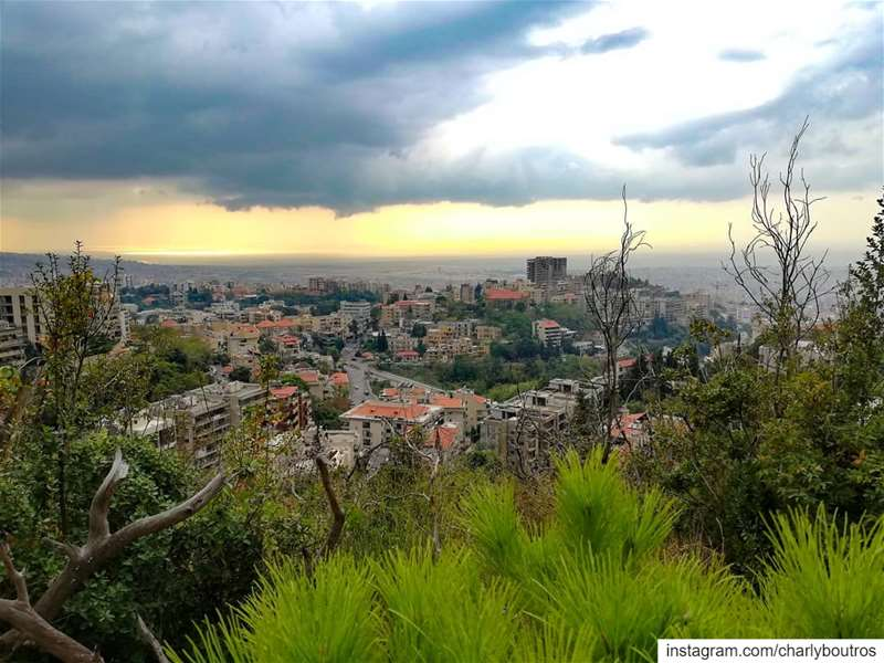 picoftheday  beautiful  lebanon  beautifuldestinations  view  green ... (Baabda District)