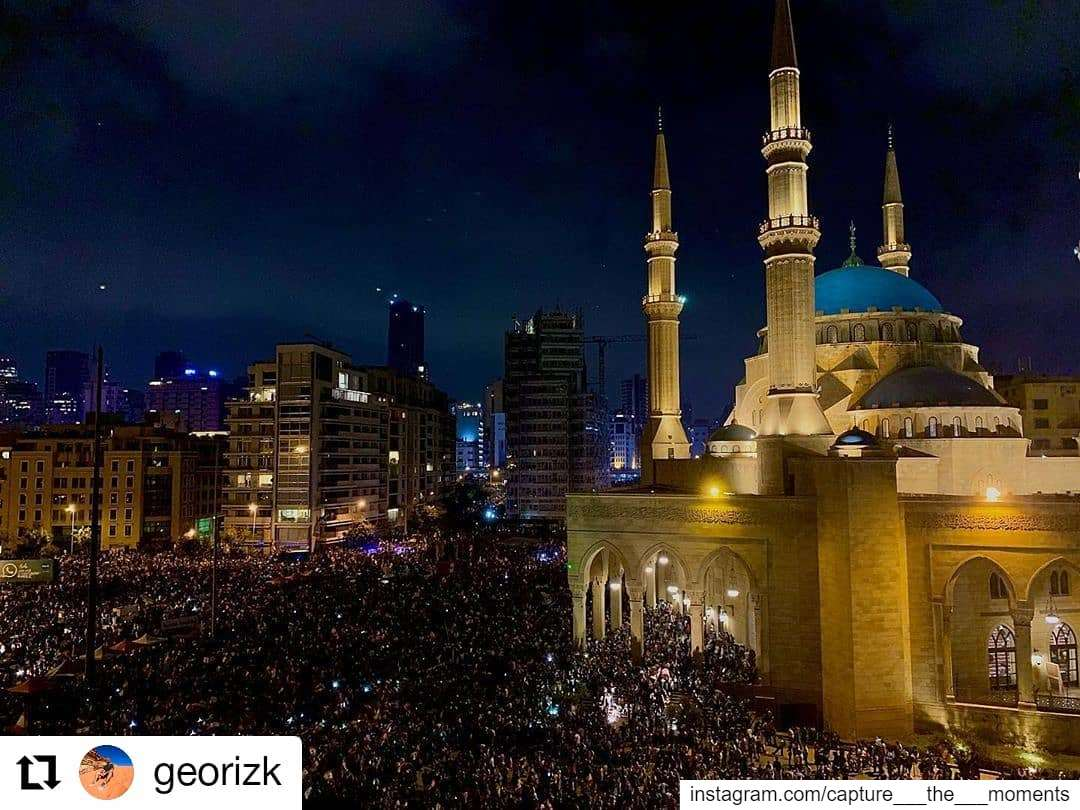 Repost @georizk• • • • • •The most powerful weapon on earth is the... (Downtown Beirut)