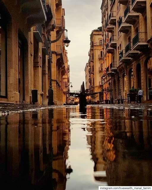 Warm & Deep .. Beirut's heart.. 📍بيروت........... beirut rain... (Beirut Souks)