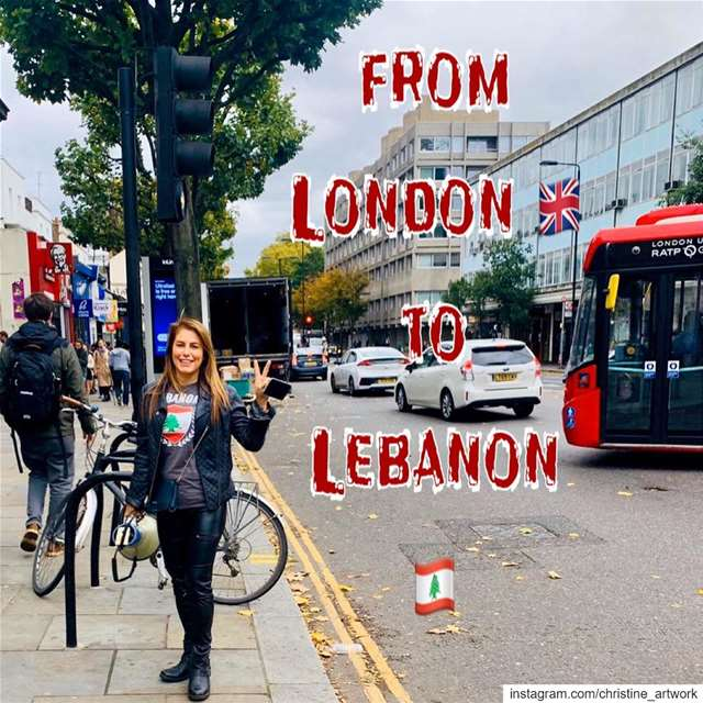 From London 🇬🇧 to Lebanon🇱🇧 we stand with you ❤️‎ينتفض من_لندن_لبيروت