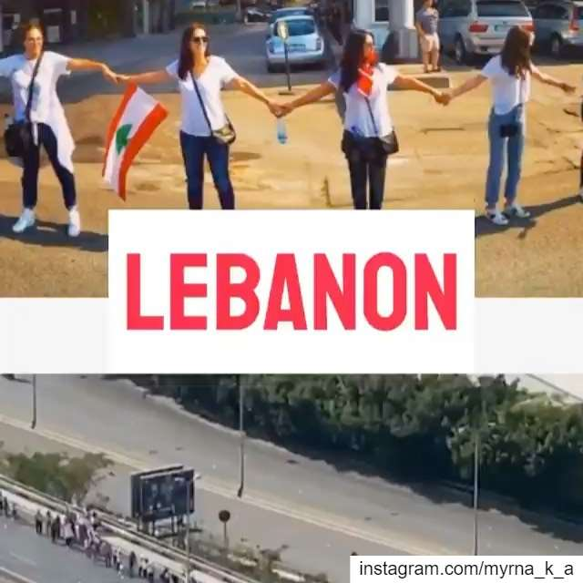 So proud to be part of it 💪🏻🇱🇧 27/10/19 humanchainlebanon humanchain... (Lebanon)