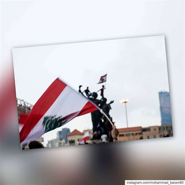 One flag..one nation lebanontimes  lebanon_pictures  lebanonstyle ... (ساحة الشهداء)