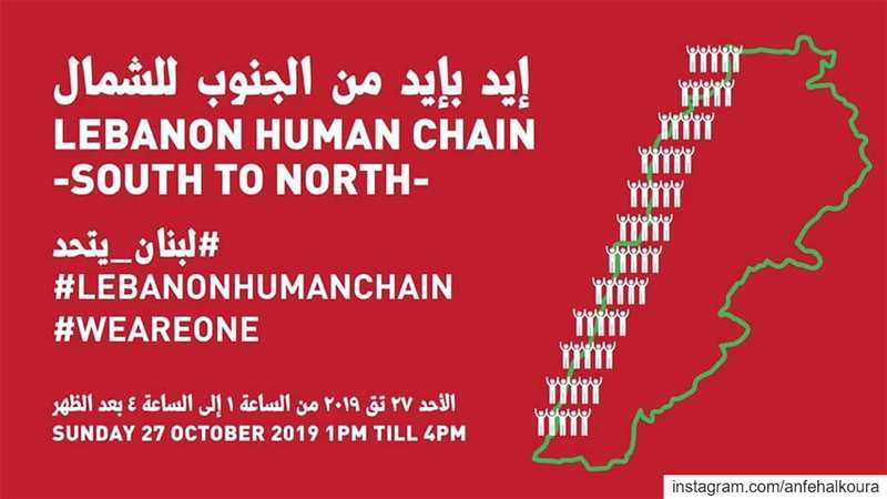 Meeting point: Anfeh Highway at 12pm lebanonhumanchain لبنان_يتحد... (Lebanon)