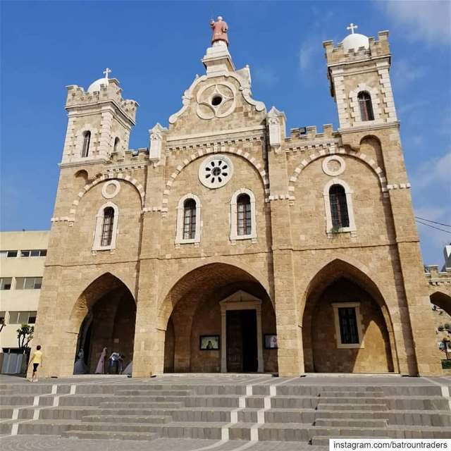 Pray for us batroun saint estephan church cathedral bebatrouni ... (Batroûn)
