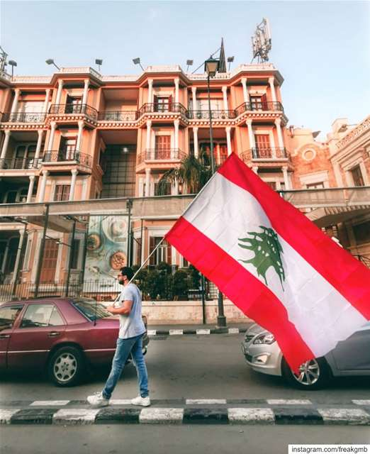 For a brighter future ❤️ 🇱🇧 ثورة لبنان_ينتفض كلن_يعني_كلن 📸: @joanad (Tripoli, Lebanon)