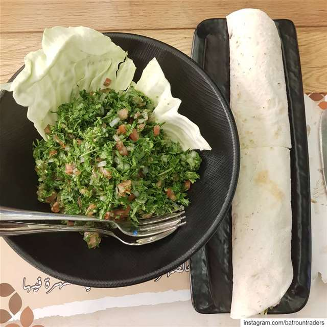 Make  tabouleh Not  war batroun  restaurants  cafe @kahweteltaiga ... (Batroûn)