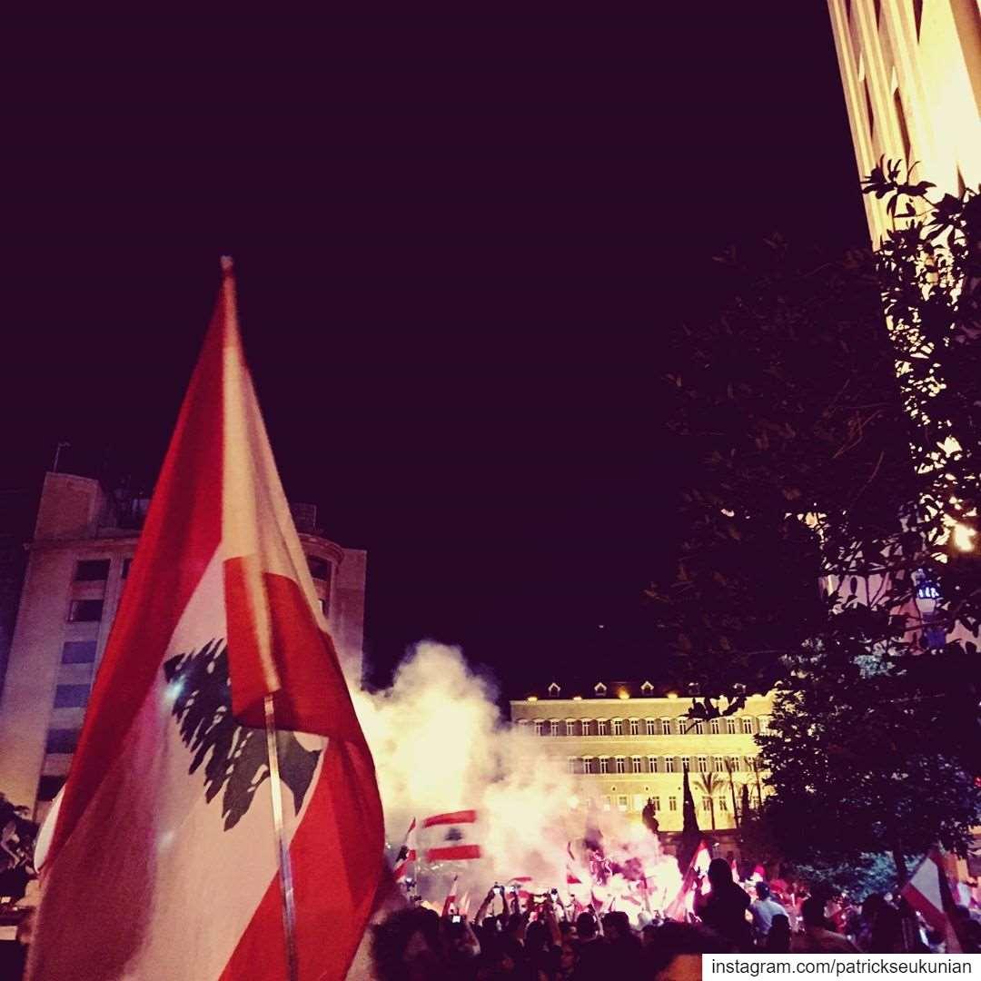 Nov. 3, La Révolution Libanaise. beirut lebanon weekend sunset ... (Beirut, Lebanon)