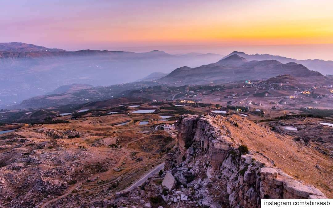"""We understand it still that there is no easy road to freedom. We know it... (Akoura, Mont-Liban, Lebanon)"