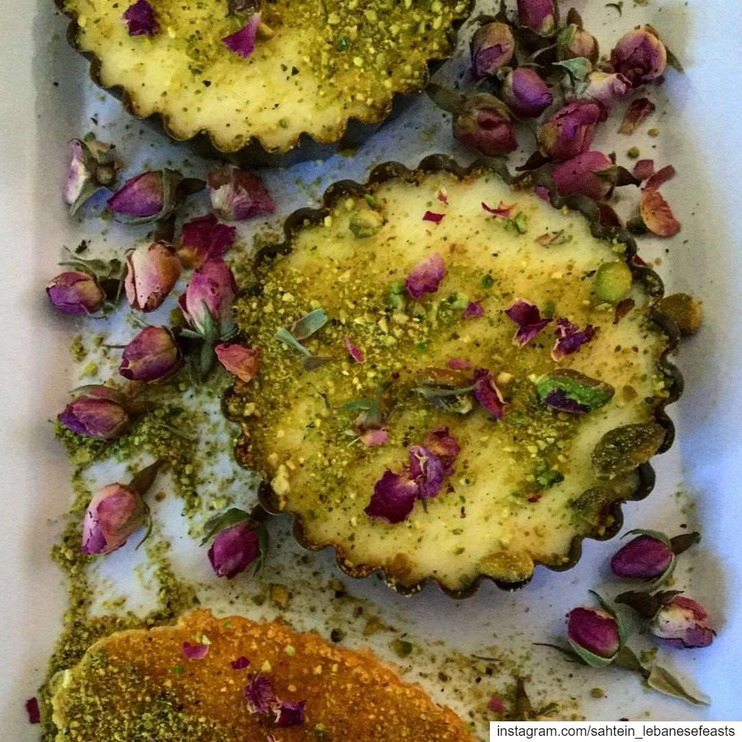 This delightful dessert, knefeh, is one of our favourite Lebanese sweets...