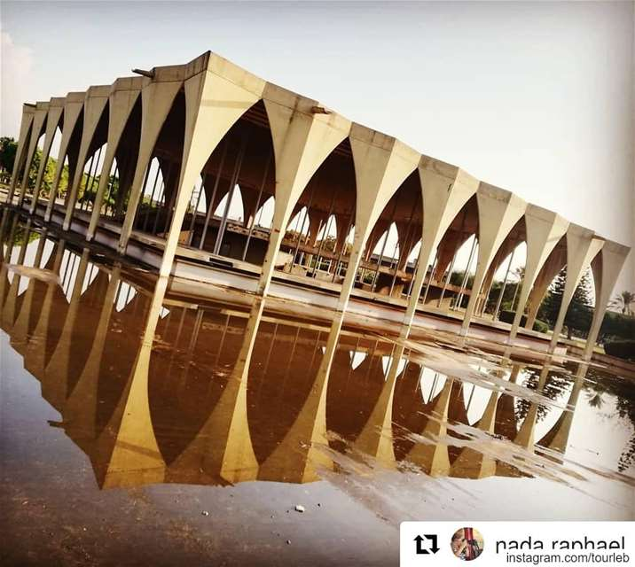 Repost @nada.raphael (@get_repost)・・・Beautiful work of  oscarniemeyer... (Tripoli, Lebanon)