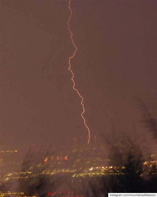 """""""Where shall we three meet again, in thunder, lightning or in Rain""""... (Beirut, Lebanon)"""