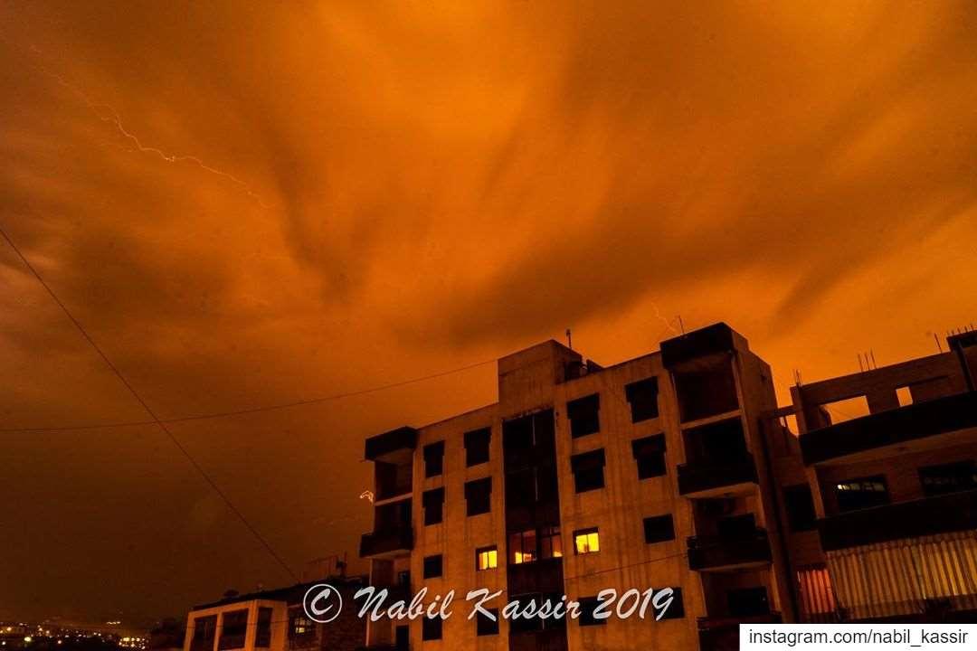 clouds storm rain novemberrain sunset ngconassignment Lebanon ...