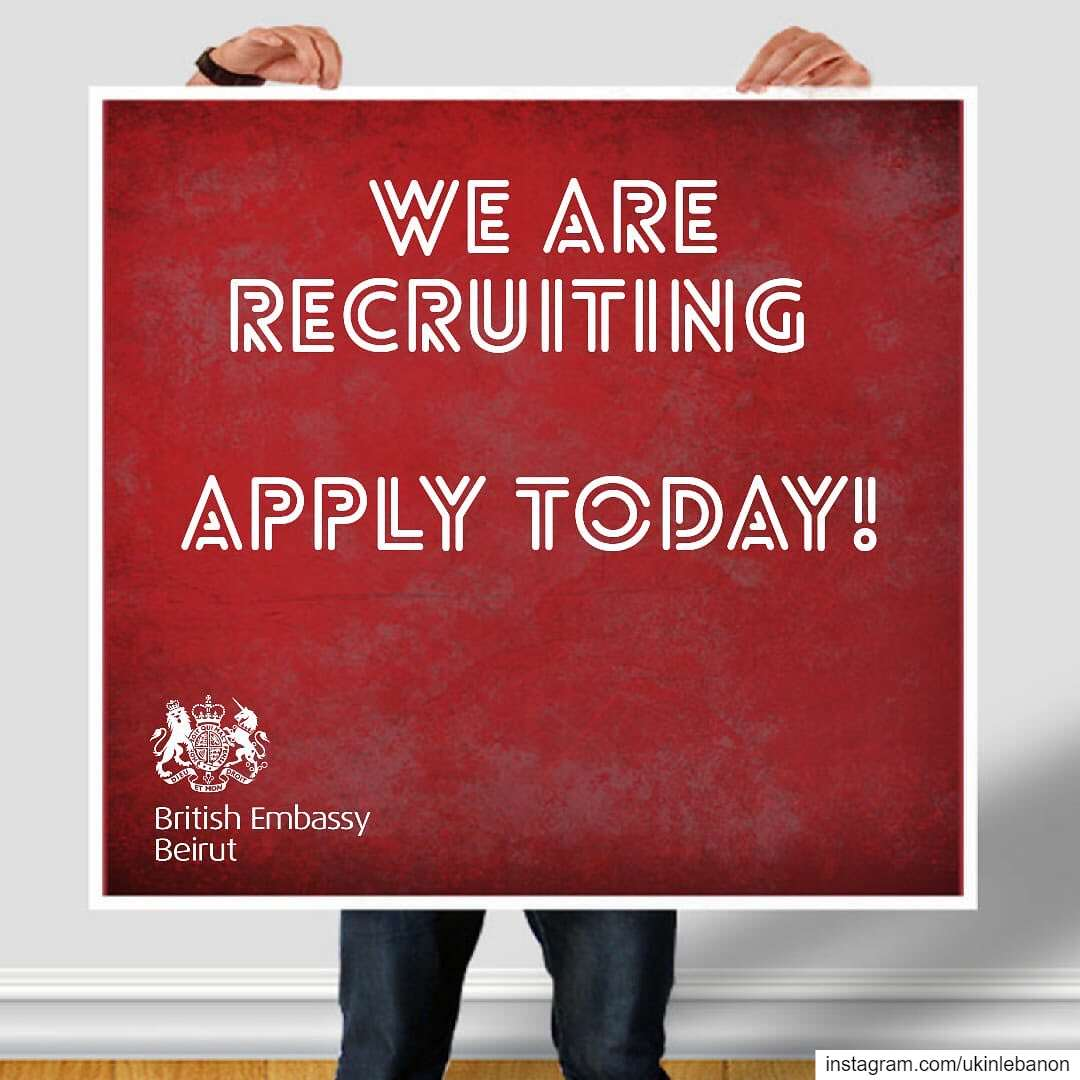 Join our team!The British Embassy in Beirut is seeking an individual for...