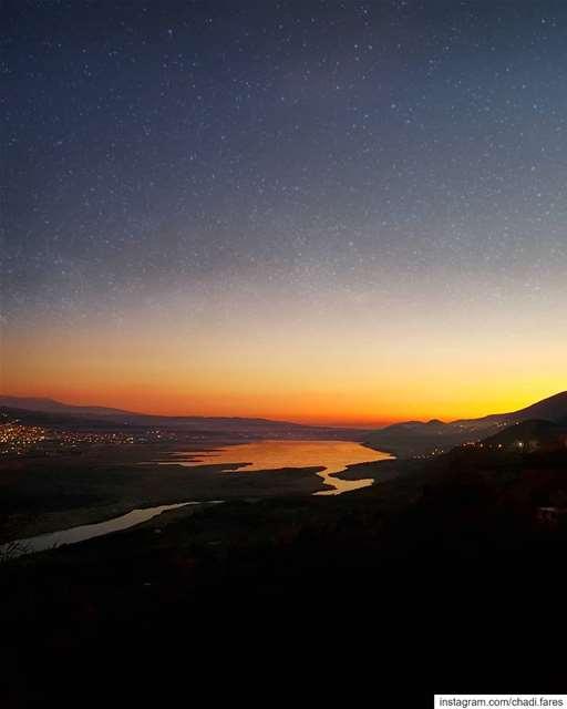 Remember after every Sunset comes a Sunrise! (Saghbîne, Béqaa, Lebanon)
