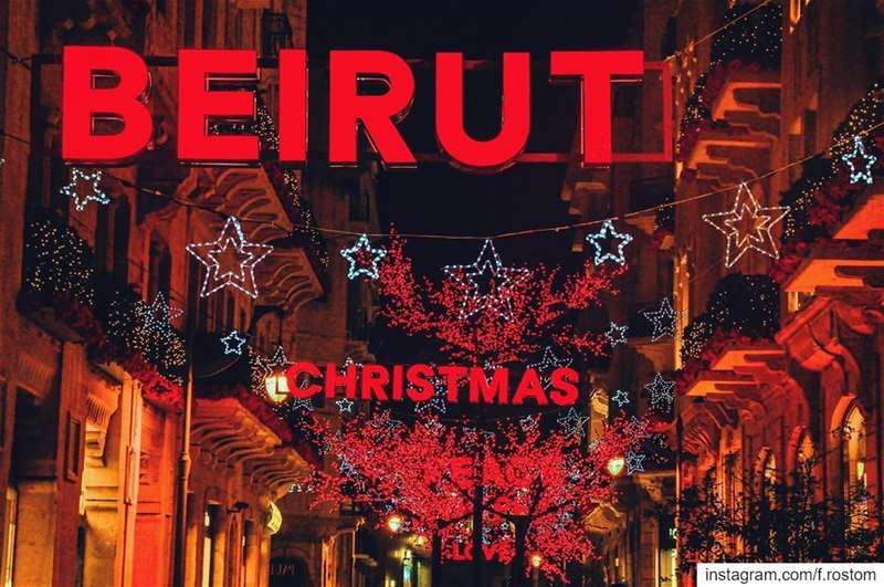 Christmas 🎄 (Downtown Beirut)