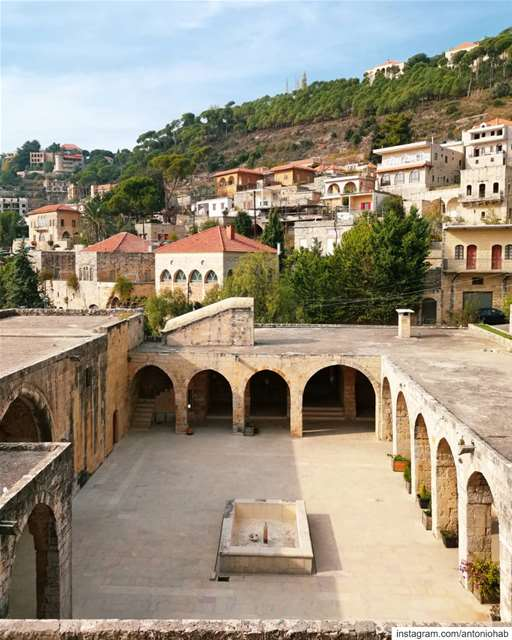 "Deir El Qamar [Stories of] 🏘️▪️Before being inaugurated as ""Institut... (Deïr El Qamar, Mont-Liban, Lebanon)"