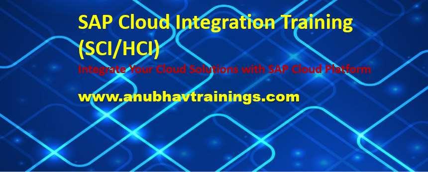 Hana Cloud Integration Training