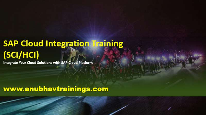 Sap Hana Cloud Integration Training
