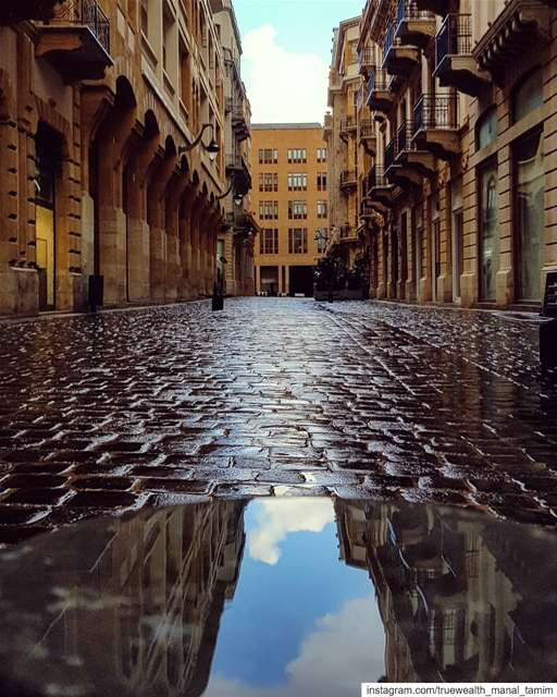 When she wakes up without makeup..My BeirutEarly morning📍♡ ......... (Downtown Beirut)