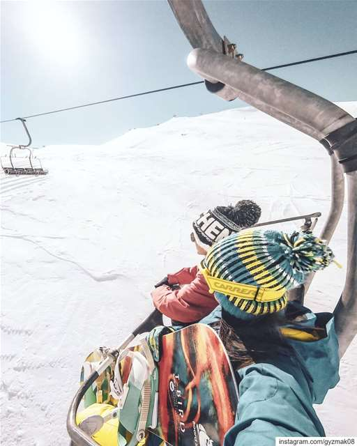 Too early to think about hitting the slopes? ..... snowboarding ... (Lebanon)