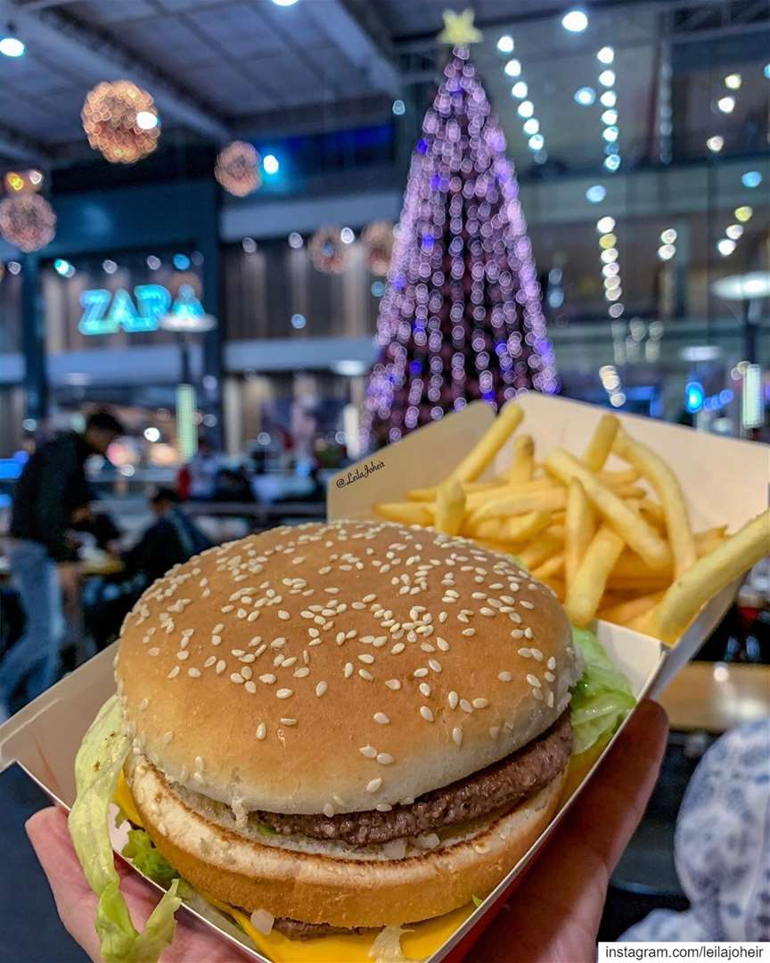 Have all the fastfood chains to choose from...but mcdo is always a...