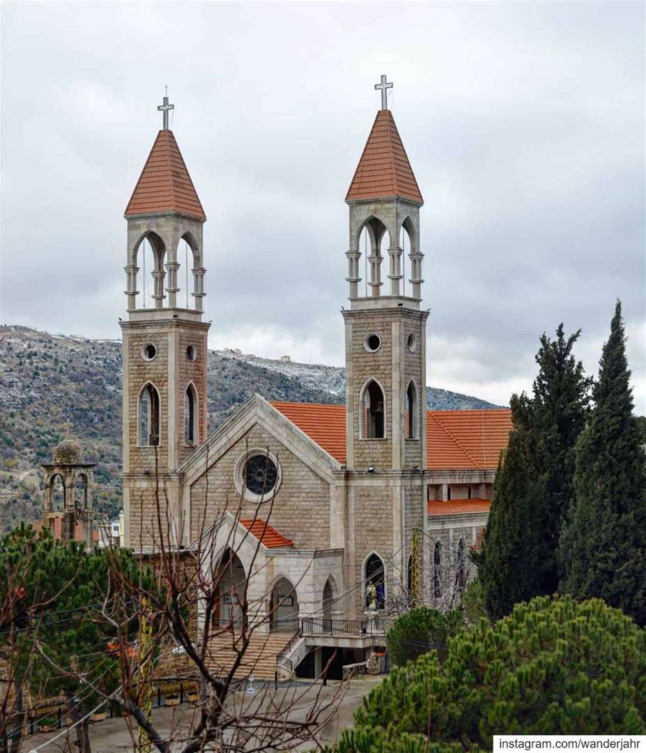 Saint Joseph Monastery 🙏🏻💫 lebstory lebanontraveler lebanonbyalocal ... (Baskinta, Lebanon)