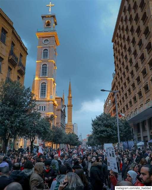 18-1-2020 TheRevolution ثورة لبنان_ينتفض لبنان_يثور ثورة_لبنان لبن (Beirut, Lebanon)