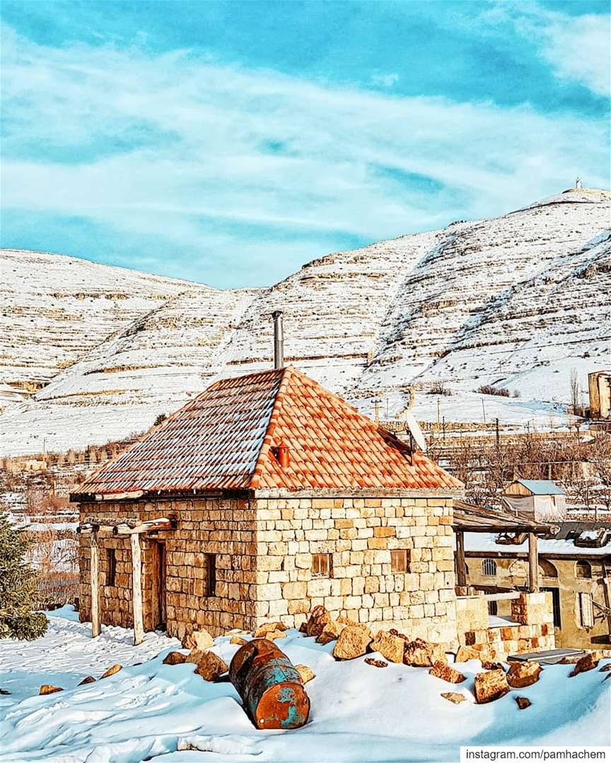 There's  snow place like home ❄💙  LebanonIf this picture makes you feel... (Lebanon)