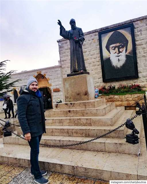There's no better start of the year 🙏❤️ newyear 2020 happynewyear ... (Mazar Saint Charbel-Annaya)