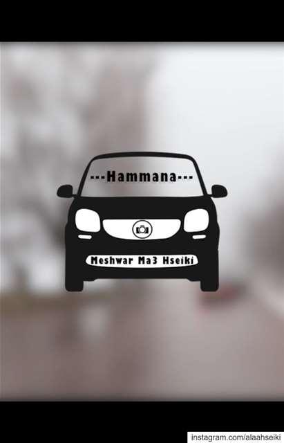 . 🚘 Meshwar Ma3 Hseiki 🚘. Hseiki MeshwarMa3Hseiki Hammana ...
