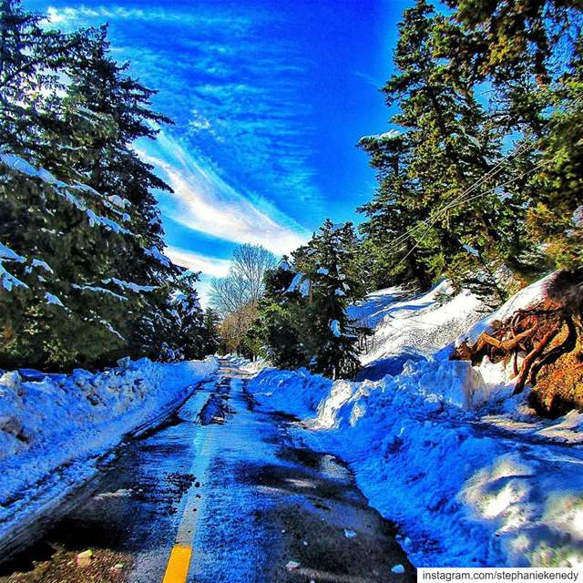 Road to paradise 💚 EHDEN 💚________________________________________... (Ehden, Lebanon)