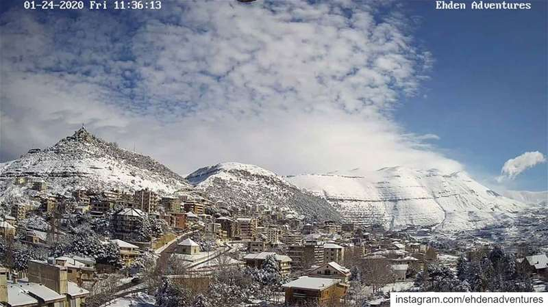 ehden snow nature lebanon snow ...