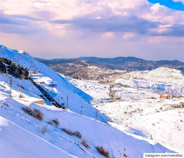 Snow Mountains Lebanon pysglb Nature photography beautifullebanon... (Kfardebian كفردبيان)