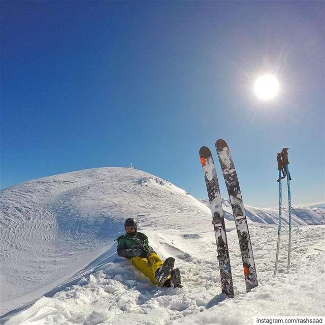 Chill hill ❄️⛷ (Mzaar Kfardebian)