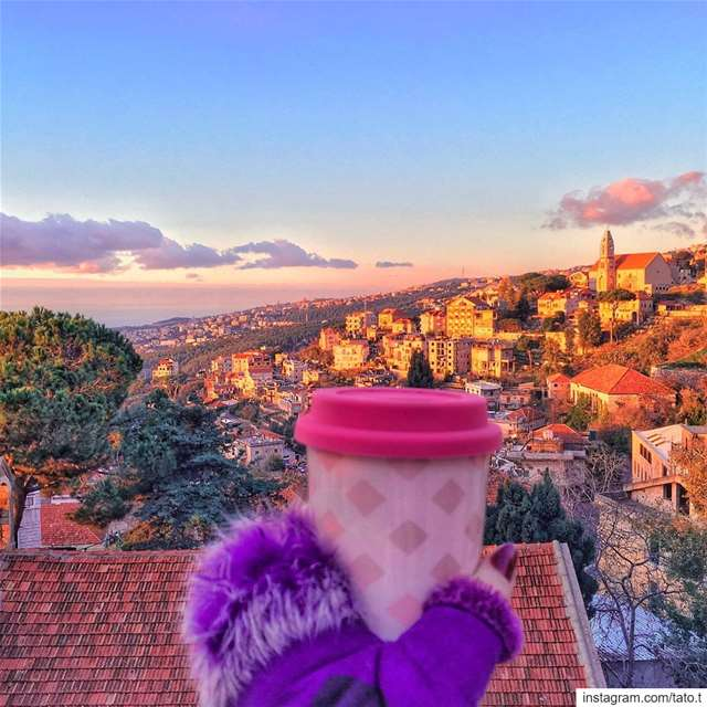 . . ♥ Hot chocolate tastes like magic & fairytale on cold days ♥.~.~.~.~. (Beït Chabâb, Mont-Liban, Lebanon)