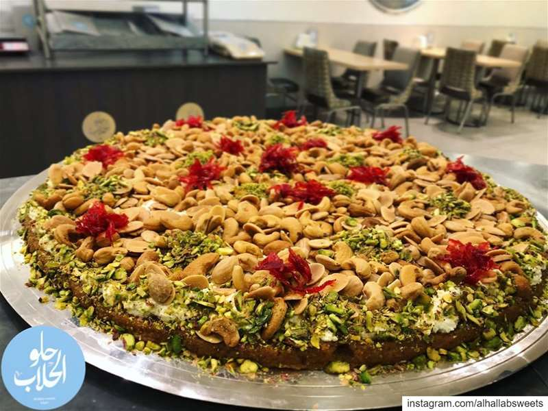 Happy new year to all our customers and everyone 🎉🎊 thank you all for... (Abed Ghazi Hallab Sweets)