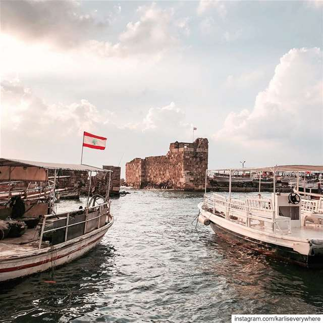 Byblos, the ancient Phoenician port city of Lebanon 🇱🇧 beirut... (Byblos, Lebanon)