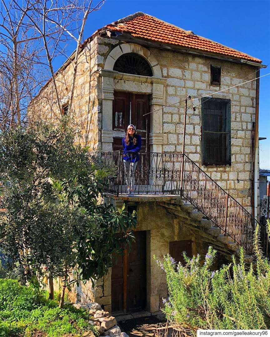 Once upon a time, ..... house old vintage village architecture ... (Beït Chabâb, Mont-Liban, Lebanon)