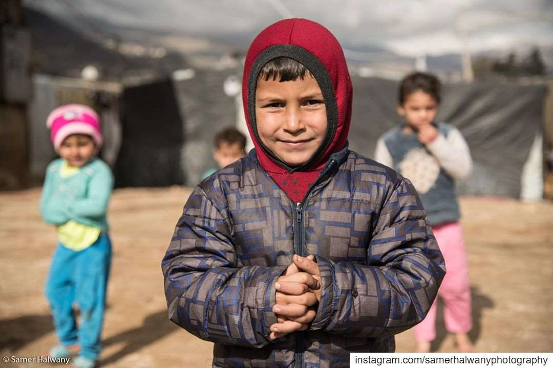 Eyes on the lens!From the refugeecamp of lebanon bekaavalley the kids...