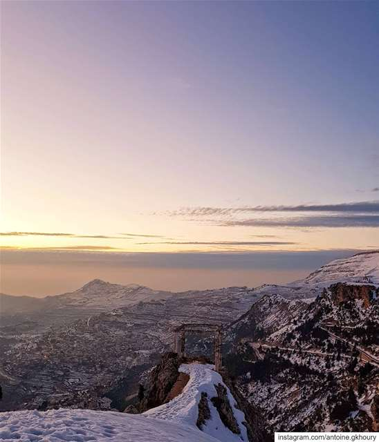 God's Land..🌄.... Lebanon  winter  cedars  Lawyer  Lawyerblog ...
