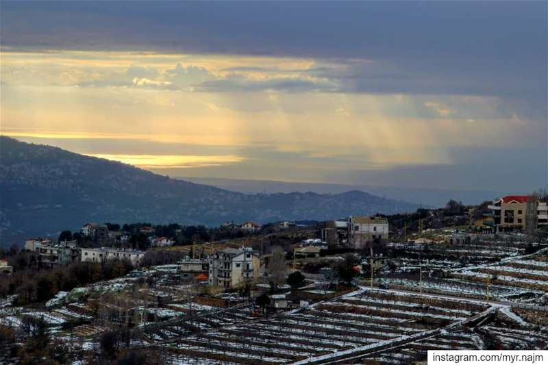 Serenity.......... Lebanon kfardebian faraya winter ... (Kfardebian كفردبيان)
