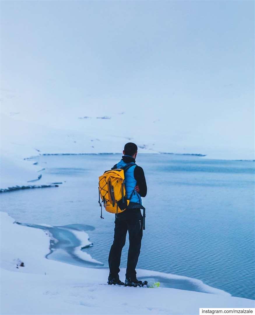 Winter Wanderland.••• Winter Snow Lake Hiking Hike Trekking ... (Winter Wonderland)