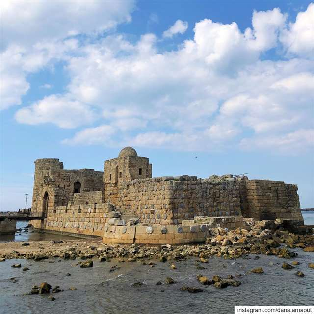 Sidon's sea castle, the prettiest!♥️.. Saida ... (Saïda, Al Janub, Lebanon)