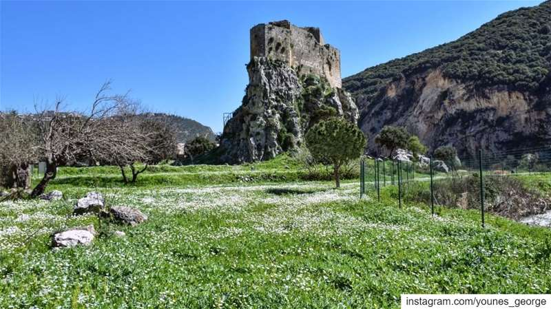 Lebanon's historical sites - Mseilha is a 17th century fort that has a... (Mseilha Fort)